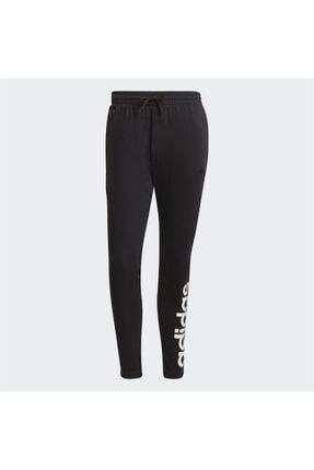 adidas Erkek Siyah Logo Baskılı Eşofman Altı 3