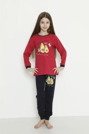 Picture of Ananaslı Uzun Ince Kız Pijama
