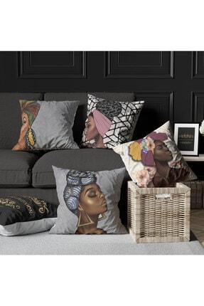 Ottoson Home Premium Dekoratif 4lü Kırlent Kılıfı 1