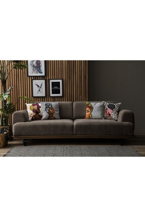 Ottoson Home Premium Dekoratif 4lü Kırlent Kılıfı 3