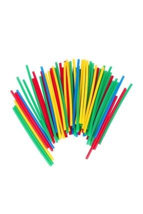 Zekice Eğlenceli Bambu Çubuklar 300 Parça Kutulu 3