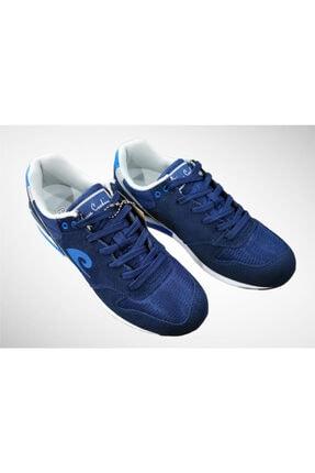 Pierre Cardin Unisex Lacivert Hakiki Süet Deri Spor Ayakkabı Pcs-70801 1
