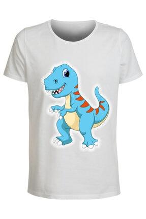 ABC Çocuk Çizgi Film Kahramanları Baskılı T-shirt 0