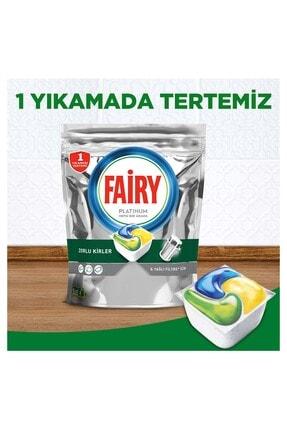 Fairy Platinum 180 Yıkama Bulaşık Makinesi Deterjanı Kapsülü Limon Kokulu 2