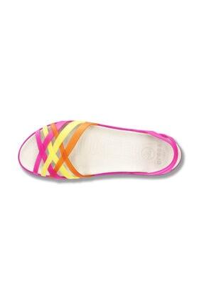 Crocs HUARACHE MINI WEDGE WOMEN Fuşya Kadın Sandalet 100528942 2