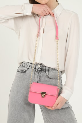 QOOL WOMEN Kadın Çanta Mini Baget 3