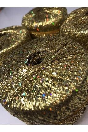 Gıybet Hobby Center Altın Renkli Simli Pullu Ip - 50gr 0