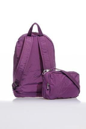 Smart Bags Smb3080-0027 Mor Kadın Katlanabilir Sırt Çantası 2