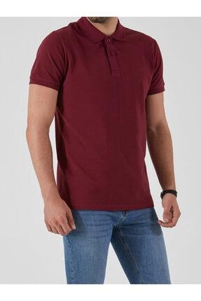 Ltb Erkek  Bordo Polo Yaka T-Shirt 012208450860890000 4