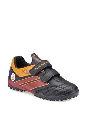 Galatasaray TRIM J TURF GS Siyah Kırmızı Erkek Çocuk Halı Saha Ayakkabısı 100280466 0