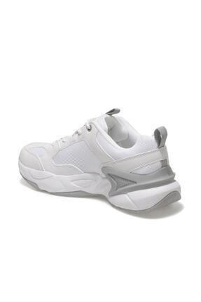 US Polo Assn MAYBE WMN Beyaz Kadın Sneaker Ayakkabı 100605072 2