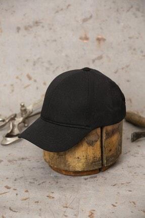 ÜN ŞAPKA Siyah Şapka - Ayarlanabilir Kep 1