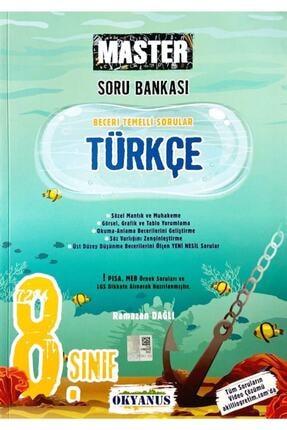 Okyanus Yayınları Okyanus 8. Sınıf Master Türkçe Soru Bankası 0