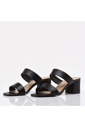 Hotiç Siyah Yaya Kadın Sandalet & Terlik 3