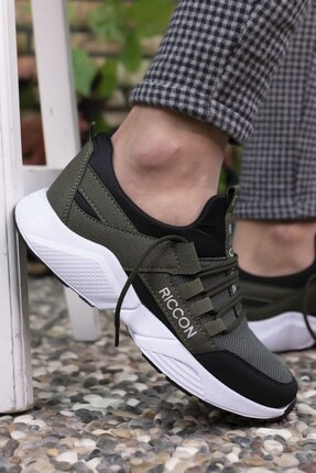 Riccon Haki Siyah Unisex Sneaker 0012072 0