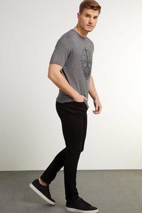 Network Erkek Slim Fit Siyah Casual Pantolon 1079175 0
