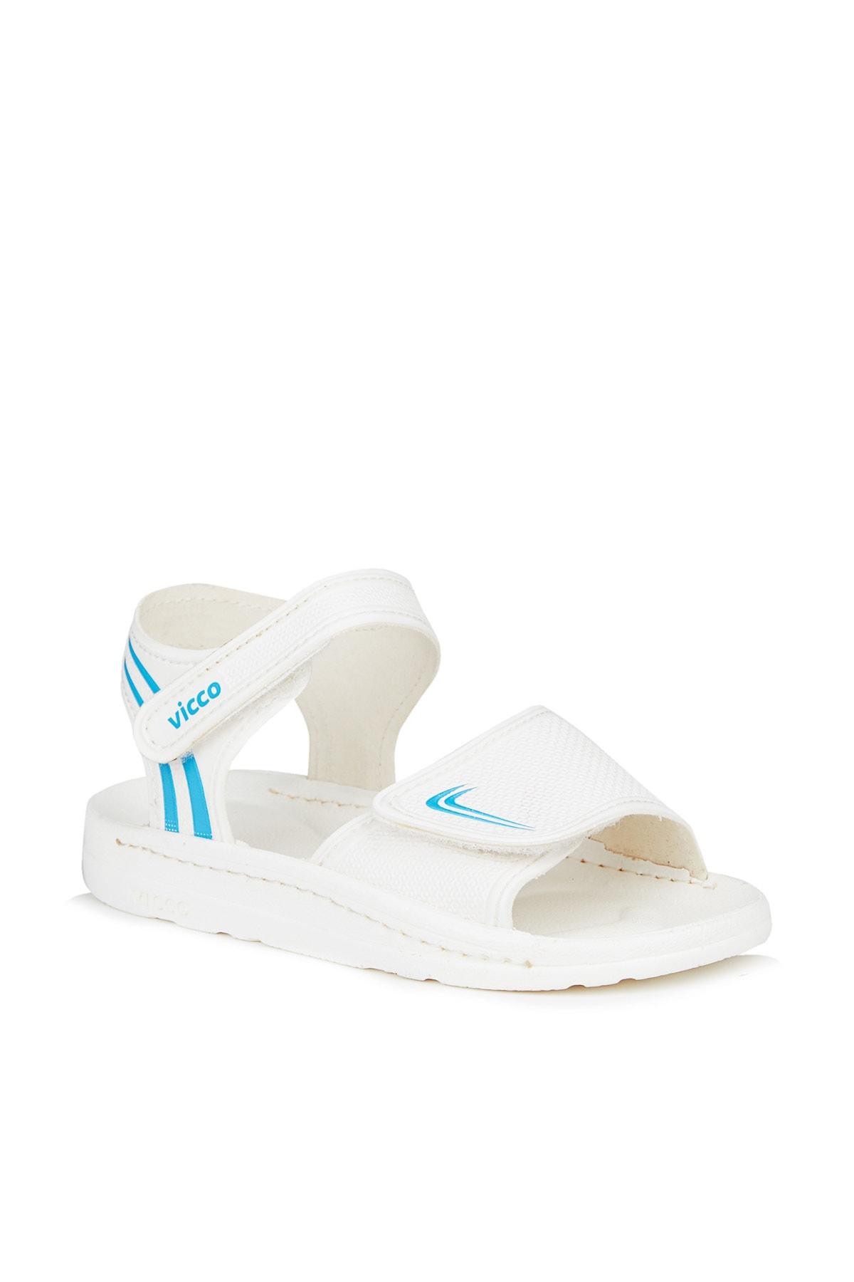 Dory Unisex Çocuk Beyaz Sandalet
