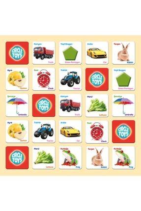 AyasEğiticiOyuncak Circle Toys Match Up Eşleştirme Kartları , Geometrik Şekilli Yumurta Bultak 1