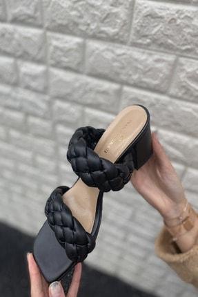İnan Ayakkabı KADIN SİYAH TOPUKLU AYAKKABI 21İ295MHM 3