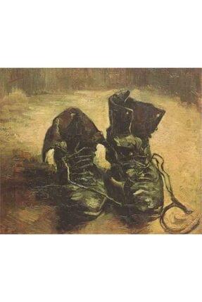 Eskimiş Botlar Van Gogh Kanvas Tablo KB22148