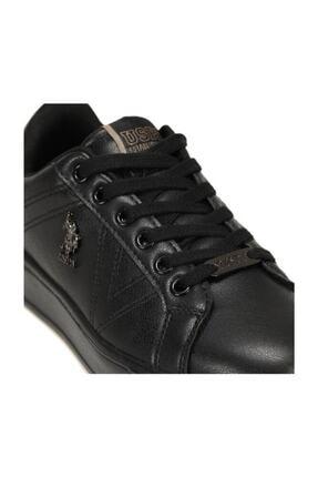 US Polo Assn Kadın Siyah Ayakkabı 3