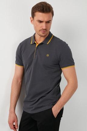 Buratti Erkek % 100 Pamuklu Polo T Shirt 2