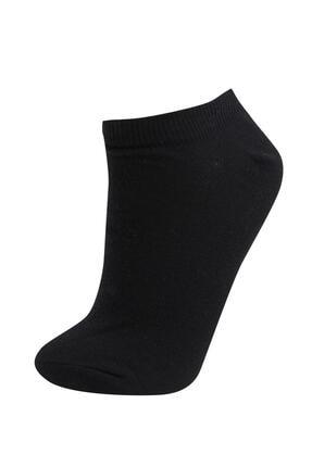Defacto Kadın Beyaz Patik Çorap 7'li 4