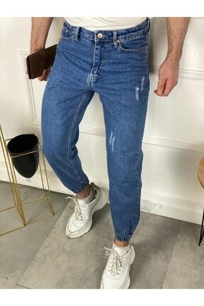 ZİBİDİ JEANS Erkek Mavi Normal Bel Pantolon 1