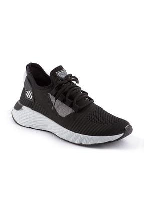 AKX 7 132 Siyah Beyaz Hava Akışlı Erkek Spor Ayakkabı 0