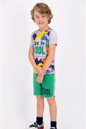 Picture of Erkek Çocuk Bermuda Pijama Takım 2355