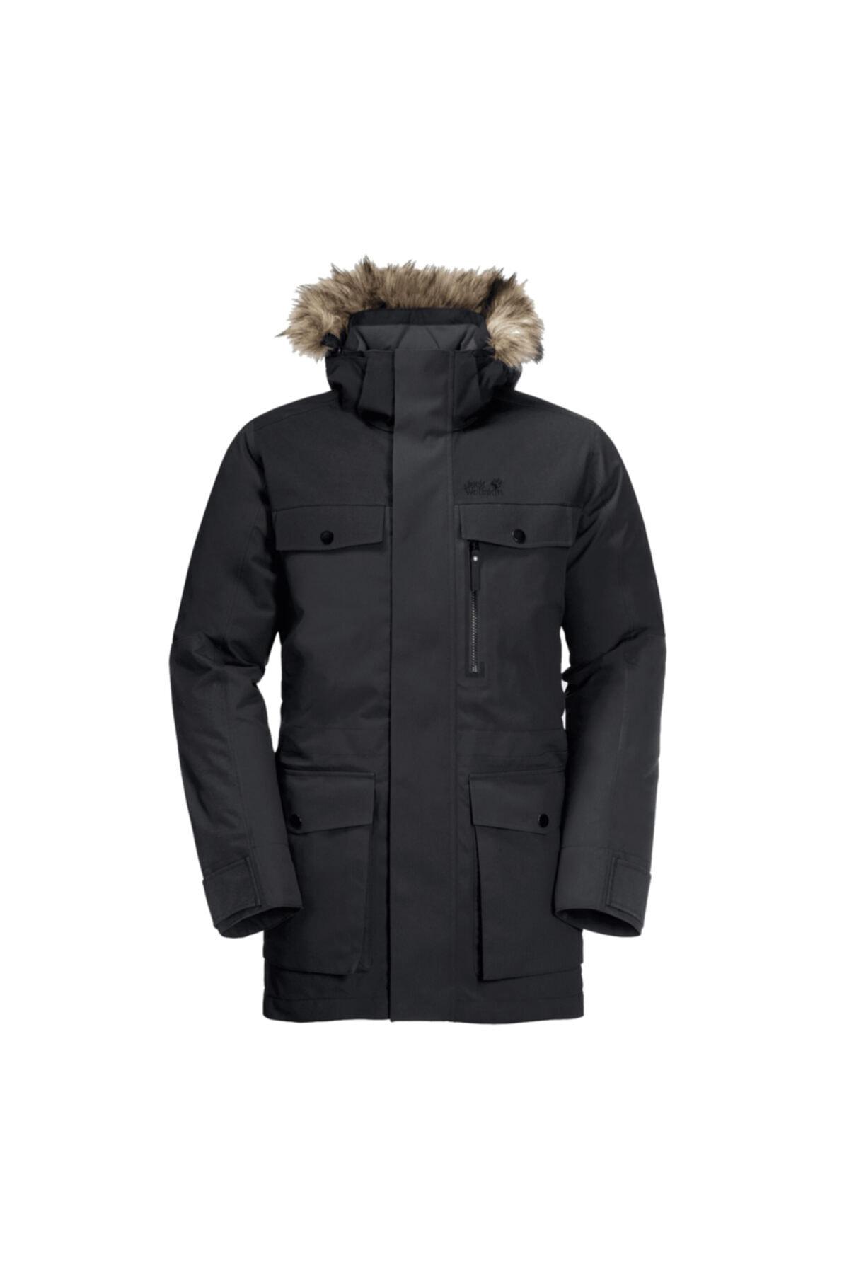 Erkek Siyah Glacier Bay Outdoor Parka 1113321-6000