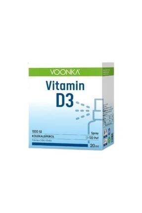 Voonka Vitamin D3 1000''Iü Takviye Edici Sprey 20 ml 0
