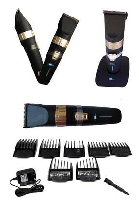 İŞTEBUKACMAZ Profesyonel Berber Şarjlı Standlı Kablosuz Seramik Bıçak Saç Ve Sakal Makinesi Pd4500 1