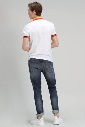 Lufian Euler Fashion Jean Pantolon Slim Fit Mavi 3