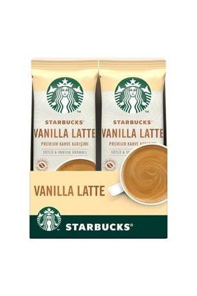 Starbucks Vanilla Latte Premium Kahve Karışımı 21.5 Gr X 10 Paket 0