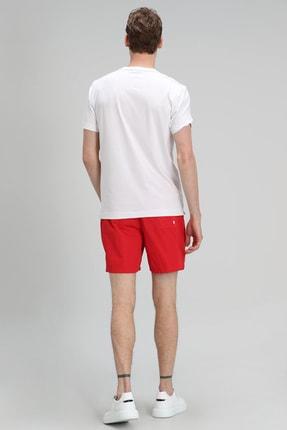 Lufian Monato Modern Grafik T- Shirt Beyaz 3