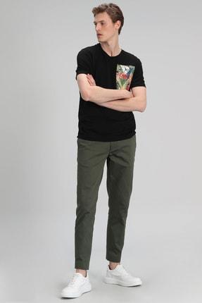 Lufian Monato Modern Grafik T- Shirt Siyah 2