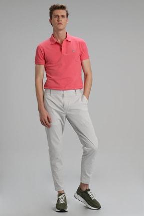 Lufian Laon Spor Polo T- Shirt Koyu Pembe 3