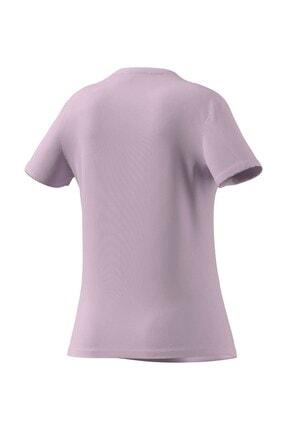 adidas T-shirt Kadın T-shirt Clpınk/whıte Gl0771 2