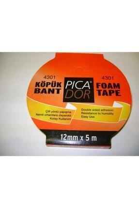 Picador 4301 Çift Taraflı Kağıt Bant Köpük Rulo Askılı 12mmx5mt 0