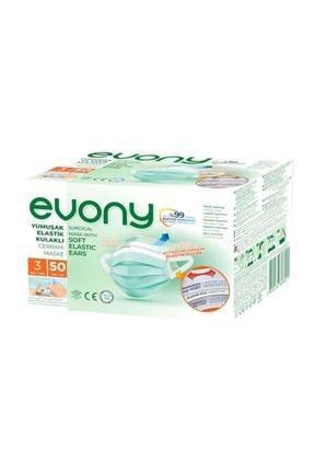 Evony Cerrahi Maske 1 Kutu Içinde 50 Adet Bütün Ürünlerimiz Orijinal Üründür 0