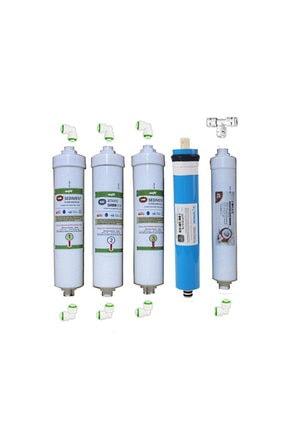 net su arıtma Ihlas Aura Cebilon Plus Uyumlu 5 Li Filtre Seti-vontron Membranlı Cebilon Filtresi 0