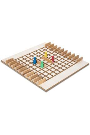 BEMİ Lüks Sağlıklı Ahşap Koridoor/koridor - Akıl Hafıza Mantık Eğitici Zeka Strateji Çocuk Ve Aile Oyunu 3