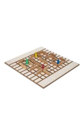 BEMİ Lüks Sağlıklı Ahşap Koridoor/koridor - Akıl Hafıza Mantık Eğitici Zeka Strateji Çocuk Ve Aile Oyunu 4