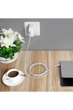WOZLO 87w Apple Macbook Pro Type-c Şarj Adaptörü Type-c Şarj Aleti - 20.2v-4.3a 9v-3a 5.2v-2.4a Type C 3