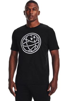 Under Armour Erkek Spor T-Shirt - UA HOOPS ICON TEE - 1361920-001 0