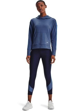 Under Armour Kadın Spor Sweatshirt - UA Rival Terry Taped Hoodie - 1360904-470 2
