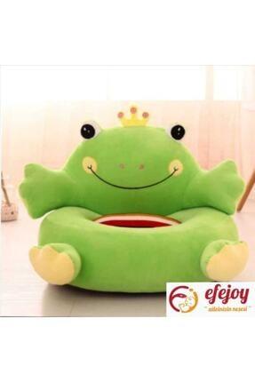 Efe Joy Kurbağa Peluş Bebek Çocuk Koltuğu 0