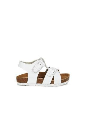 Vicco Sedna Unisex Çocuk Beyaz Sandalet 1