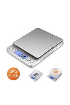 Gomax Dijital Hassas Tartı-mutfak Terazisi 2kg/0.1gr 0